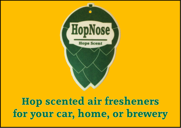 HopNose - Hops Scented Air Fresheners